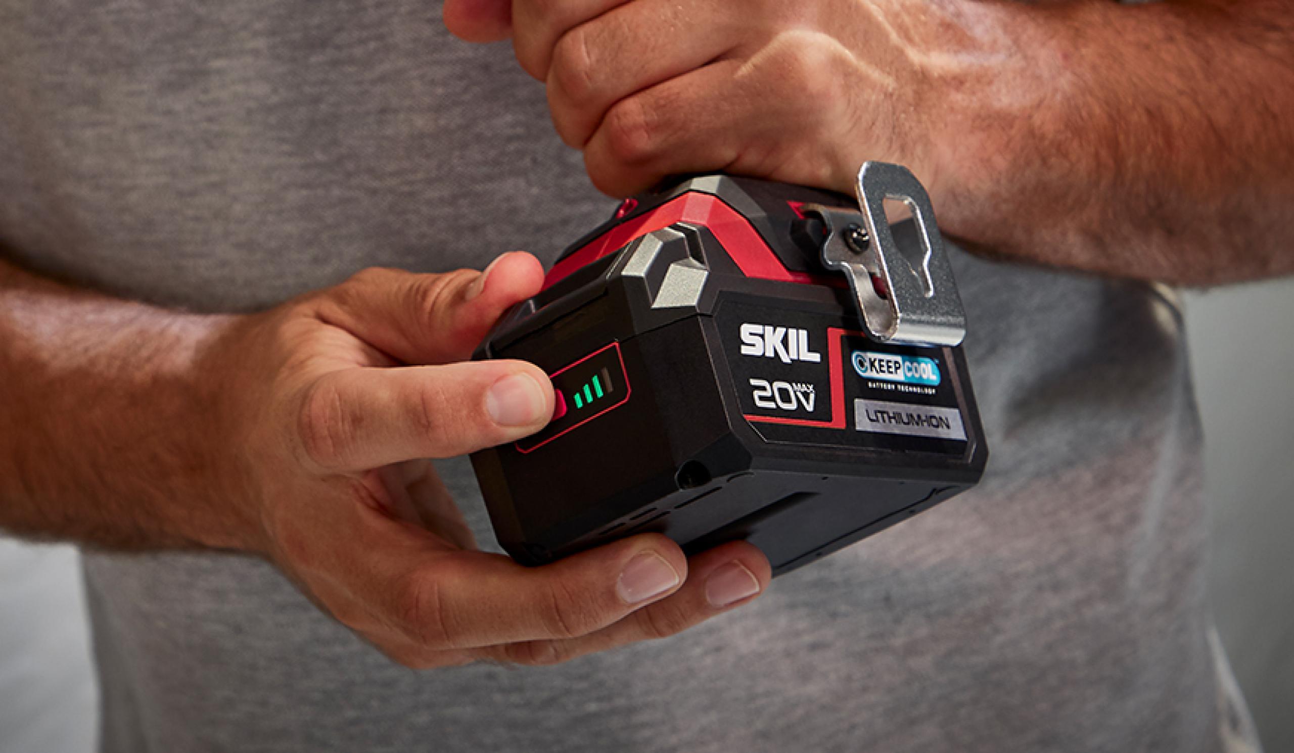 Notre indicateur de charge batterie breveté – vous pouvez vous y fier