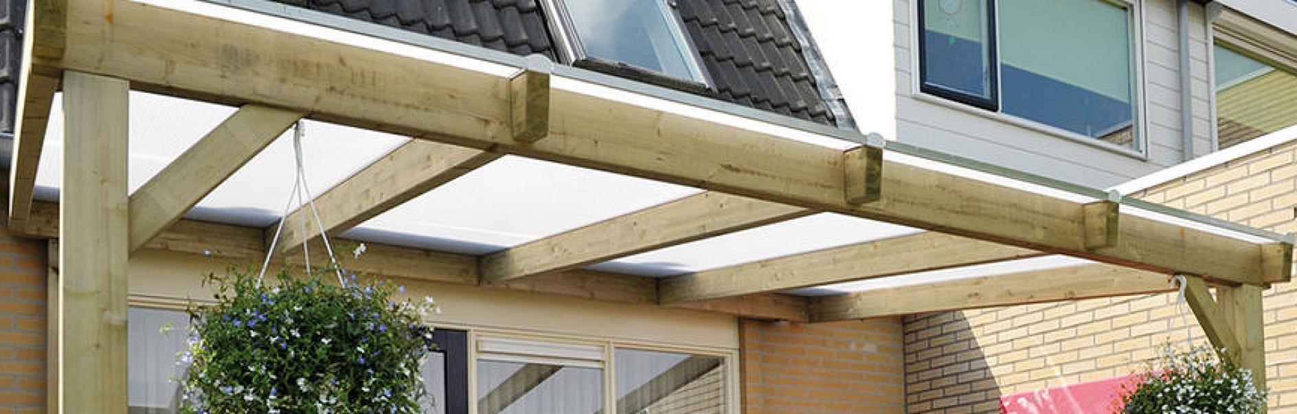 Bekend Terrasoverkapping of veranda maken YJ59