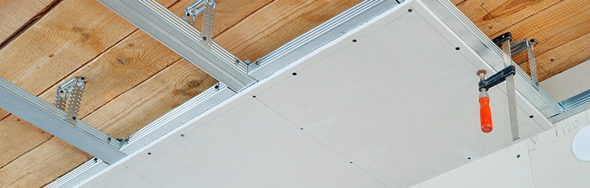 Super Zelf een verlaagd plafond maken MQ07