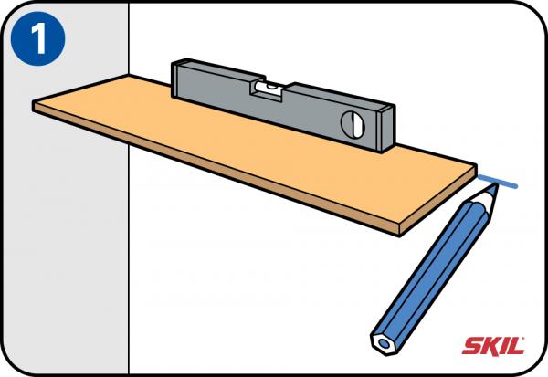 Plank Muur Bevestigen.Zelf Legplanken Plaatsen En Op Maat Maken