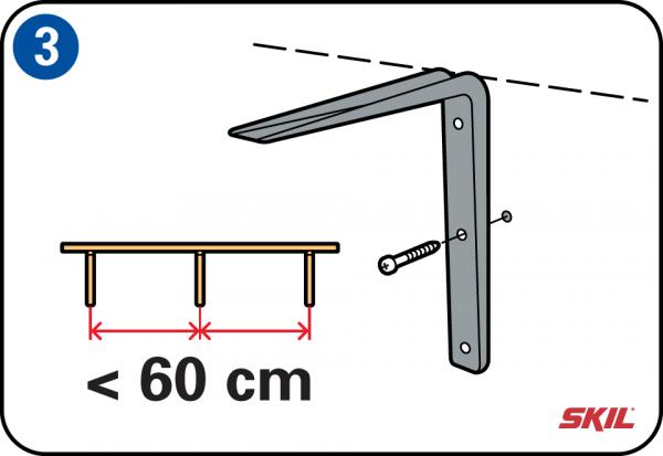 Planken Bevestigen Aan De Muur.Zelf Legplanken Plaatsen En Op Maat Maken