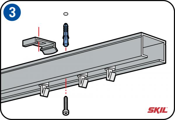 Voorkeur Verticale lamellen ophangen en op maat maken JF33