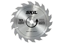 SKIL Hardmetalen zaagblad (Ø 184 mm, 18 tanden)