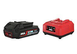 SKIL 3110 AA Accu ('20V Max' (18V) 2,5 Ah 'Keep Cool' Li-Ion) en oplader